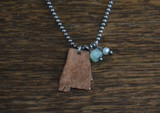 Copper & Sterling Alabama Necklace