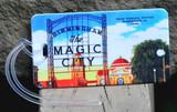 Magic City Luggage Tag