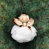 Cotton Angel Ornament