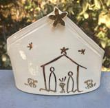 Alabama Mud Wrapped Nativity