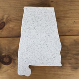 Alabama Corian Cutting Board Large