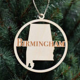 Birmingham Wooden  Ornament