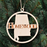 Homewood Wooden  Ornament