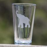 Elephant Pint Glass