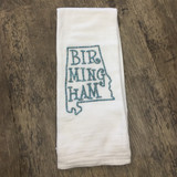 Embroidered Birmingham Dish Towel