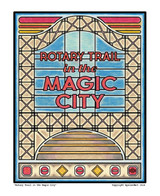 Rotary Trail in the Magic City Print