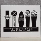 Drink Local Print