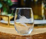 Dragon Stemless Wine Glass