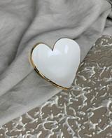 Gold Heart Trinket Dish