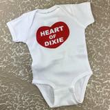 Heart of Dixie Onesie