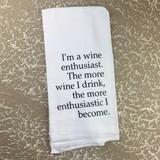 Wine Enthusiast Towel
