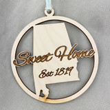 Sweet Home Est. 1819 Ornament