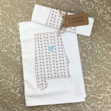 Cotton Heart Towel
