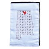 Huntsville Hometown Heart Towel