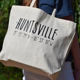 Huntsville Coordinates Tote