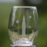 Rocket Stemless Wine Glass