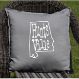 Huntsville State Outline Pillow