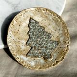 Aspire Pottery Christmas Tree Dish