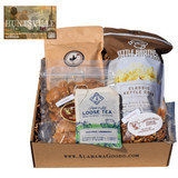 Gift box with free shipping of goodies made in Huntsville.