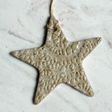 Aspire Pottery Star Ornament