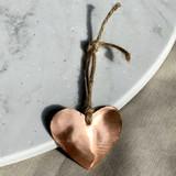 Copper & Twine Heart Ornament