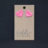 XOXO Clay Earrings
