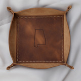 Leather Valet Catch All
