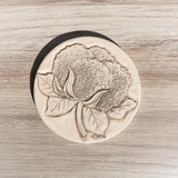 Cotton Boll Clay Coaster
