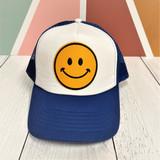 Smiley Hat - Blue