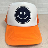 Smiley Hat - Auburn
