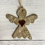 Aspire Pottery Angel with Heart
