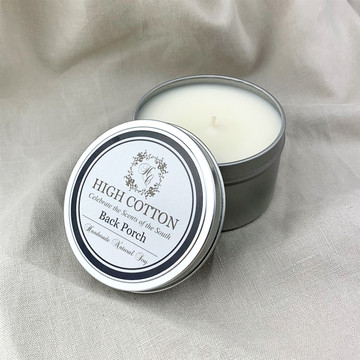 High Cotton Candle Tins