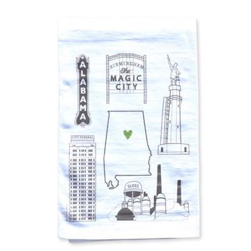 Birmingham Icon Towel