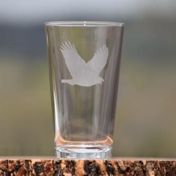 Eagle Pint Glass