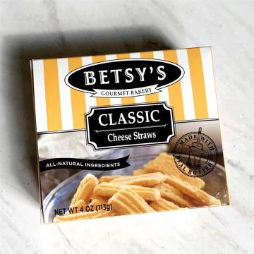 Betsy's Cheese Straws