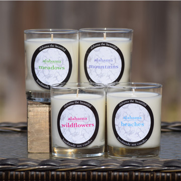Alabama the Beautiful Soy Candles