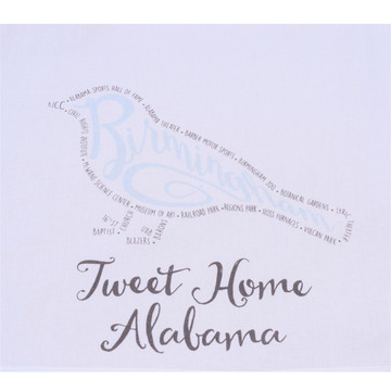Tweet Home Alabama Kitchen Towel