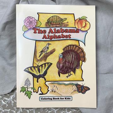 Alabama Alphabet Coloring Book