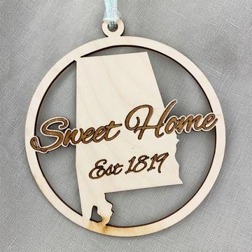 Sweet Home Est. 1819 Ornament