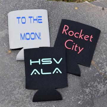 Huntsville Space Koozies