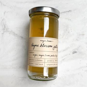 Stone Hollow Farmstead Meyer Lemon and Thyme Blossom Jelly