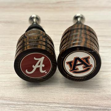 Alabama/Auburn Bottle Stoppers