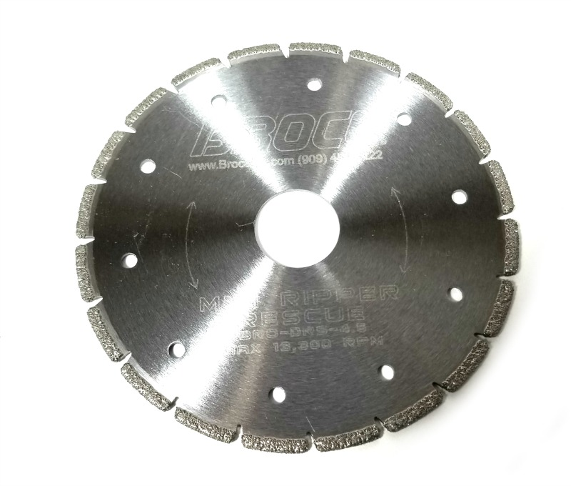 MINI-RIPPER 4.5 Inch Diamond Saw Blade