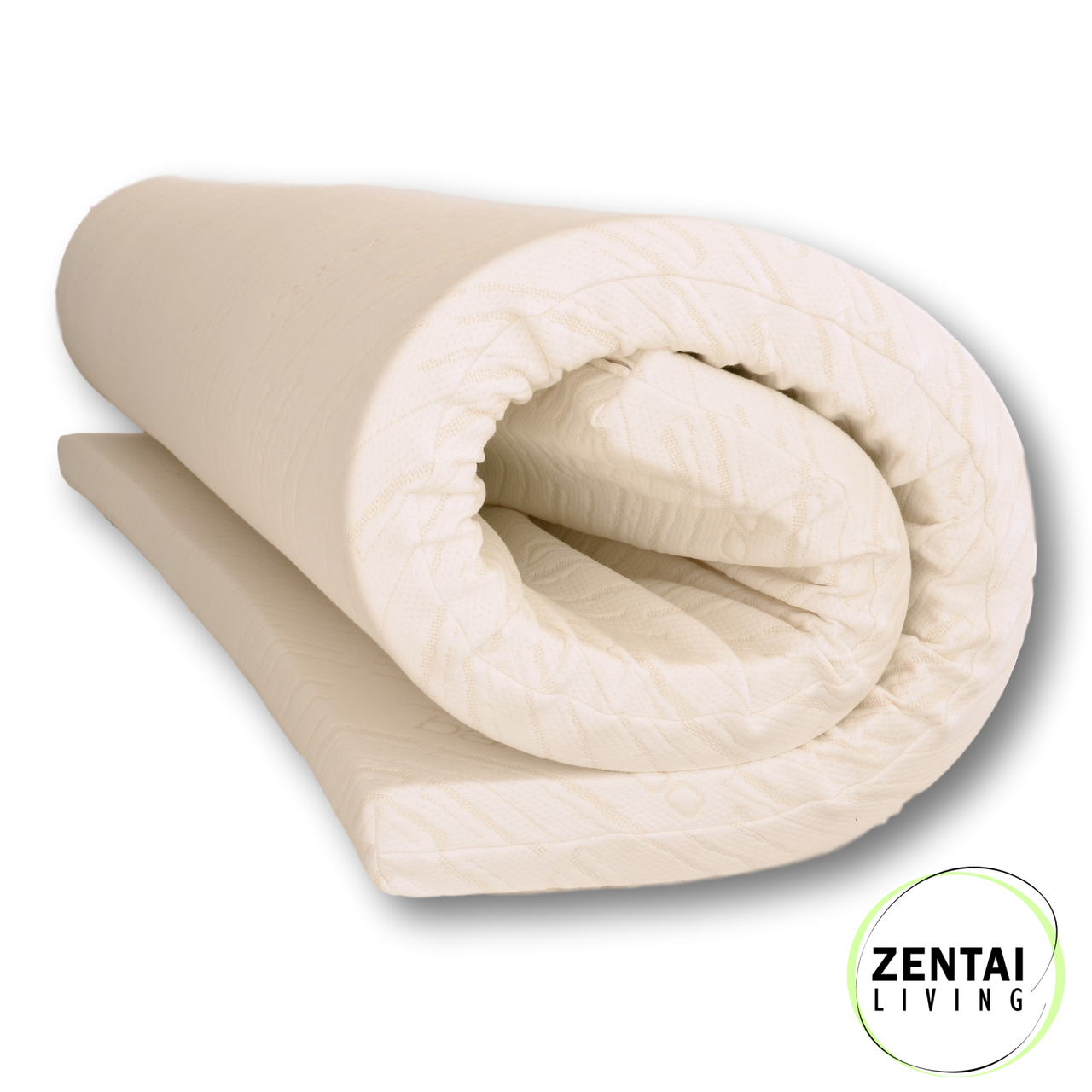 Latex Mattress Topper.Essential Latex Natural Mattress Topper 7 5cm