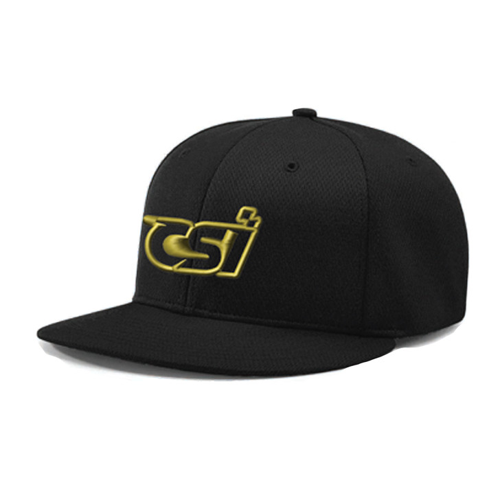 CSI Fitted Baseball Hat Black