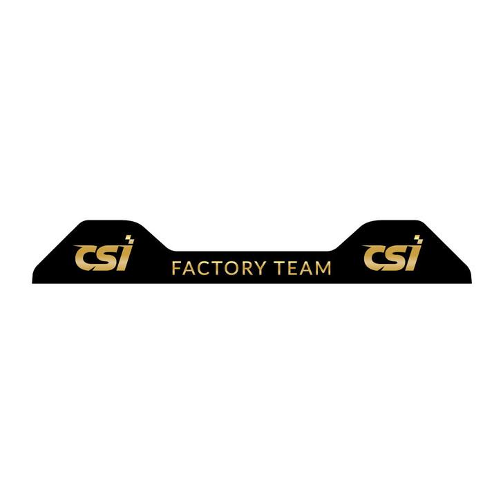 CSI Factory Team Mychron 5 Decal