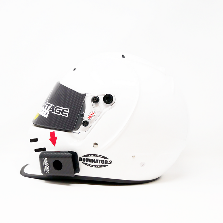 Carbon Raceiever or Switch Helmet Radio Mount