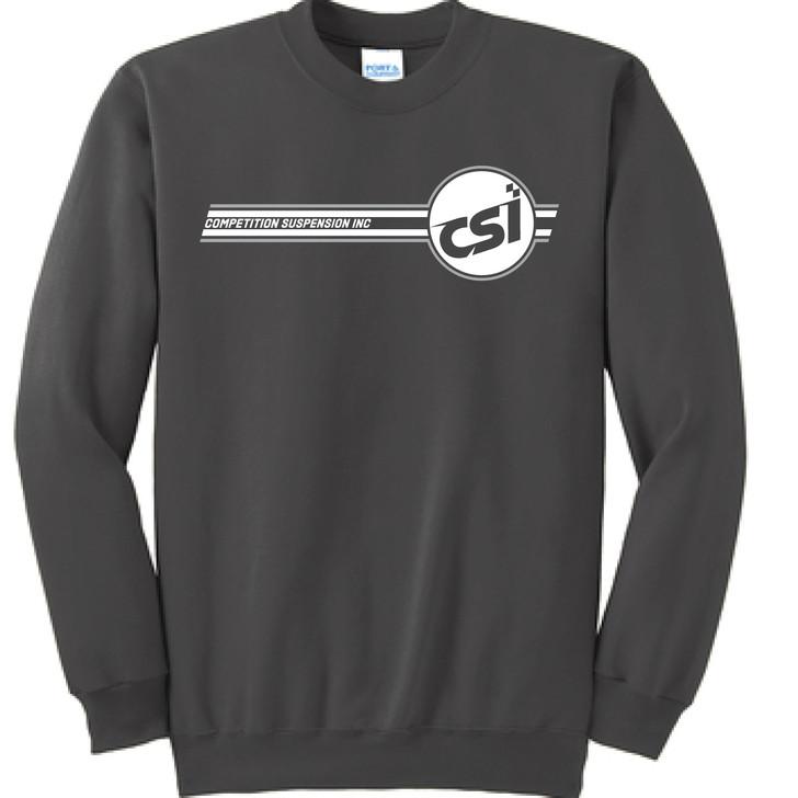 CSI Black Crew Neck Sweat Shirt
