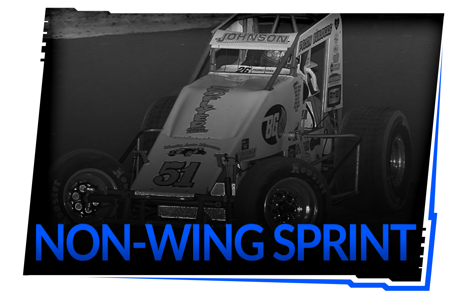 Non-Wing Sprint Shock Package