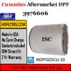 3976606-NDPF025CU-10 3976606 Cummins ISC Engine Diesel Particulate Filter DPF